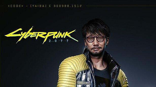 В Cyberpunk 2077 появится персонаж с лицом Хидео Кодзимы