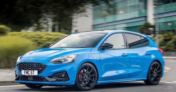 Ford показал модернизированную версию Focus ST