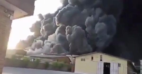 ВИране нахимзаводе произошли крупный пожар ивзрывы