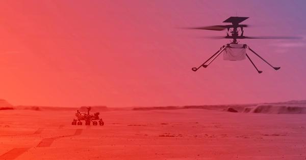 Полет надМарсом: вNASA назвали дату испытания вертолета Ingenuity