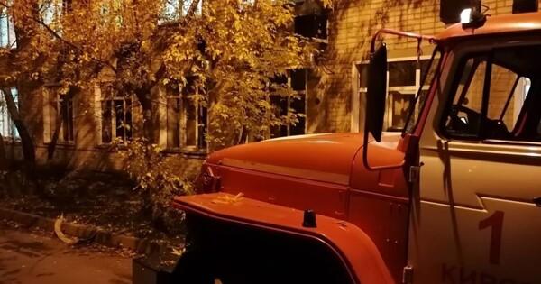 Двачеловека погибли припожаре вотделении больницы вКирове