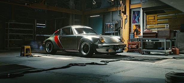 Porsche Джонни Сильверхенда из Cyberpunk 2077 воссоздали в Forza Horizon 4