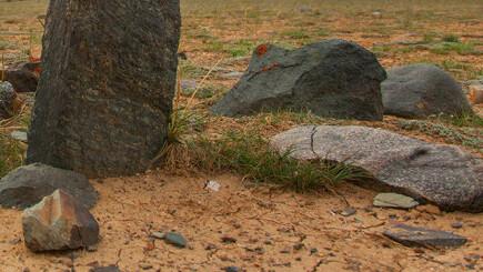 На юге Казахстана нашли надгробие І-ІІІ веков нашей эры