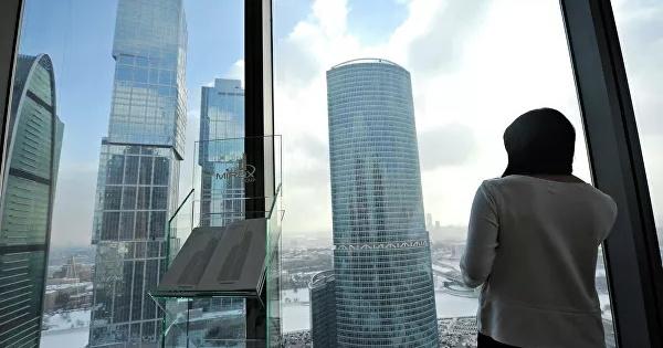 Девушка выбросилась с86этажа башни вМоскве-Сити
