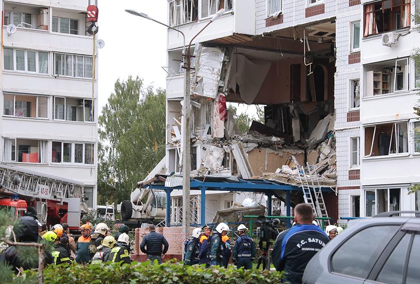 Следователи установили причину взрыва вподмосковном Ногинске