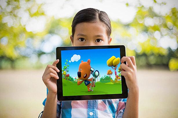 Китайские дети стали фанатами игры «Ми-ми-мишки»
