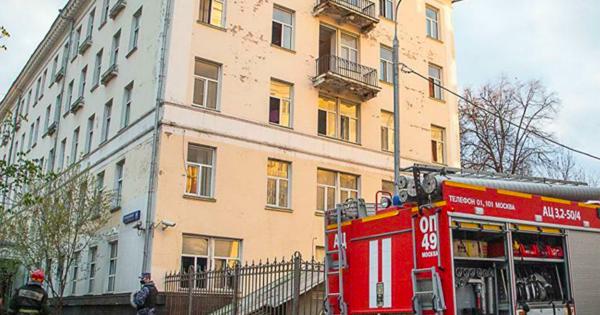 Жертвами пожара вгостинице вМоскве стали двачеловека