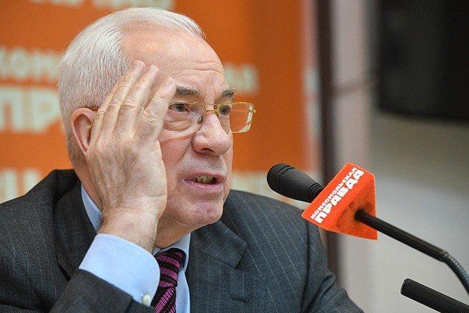 Азаров рассказал украинцам ораспаде России пословицей