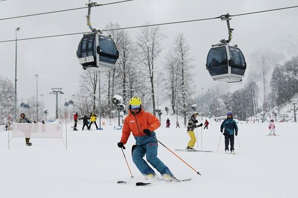 Россиянин рассказал онедостатках горнолыжного курорта вСочи&nbsp