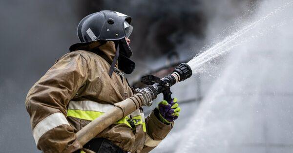 Один человек погиб припожаре вгостинице вМоскве