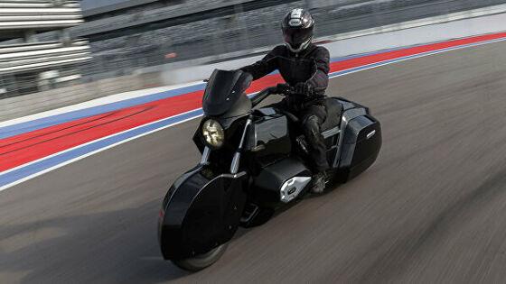 В семействе «Ауруса» появился мотоцикл