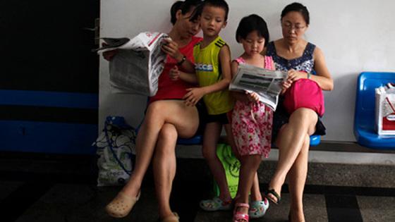 В Китае начали платить за второго и третьего ребенка