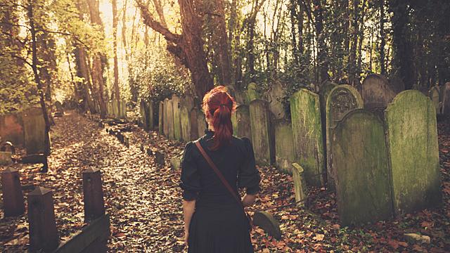 Что будет, если вы случайно наступили на могилу
