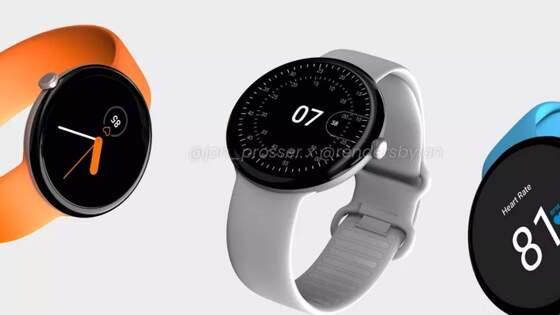 Google выпустит умные часы в элегантном дизайне