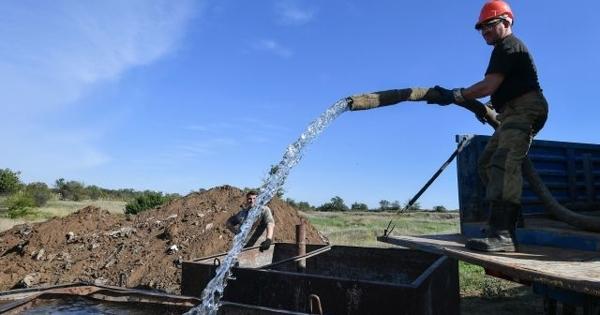 Пока вынеуснули: «Просочившаяся вКрым украинская вода» оказалась российской
