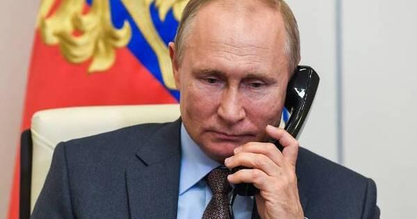 Путин пожелал обсудить сЗеленским проблемы отношений РФиУкраины