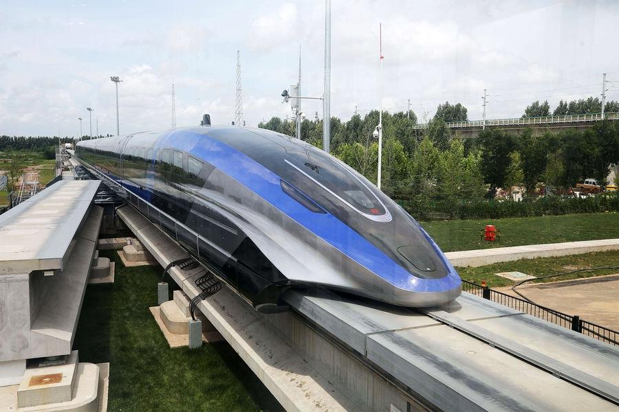 ВКитае создали самый быстрый поезд вмире