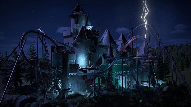 К Planet Coaster выпустили двойной набор Spooky & Adventure