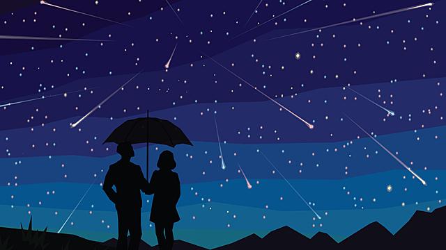 К чему снится звездопад? Грядут удачные события?