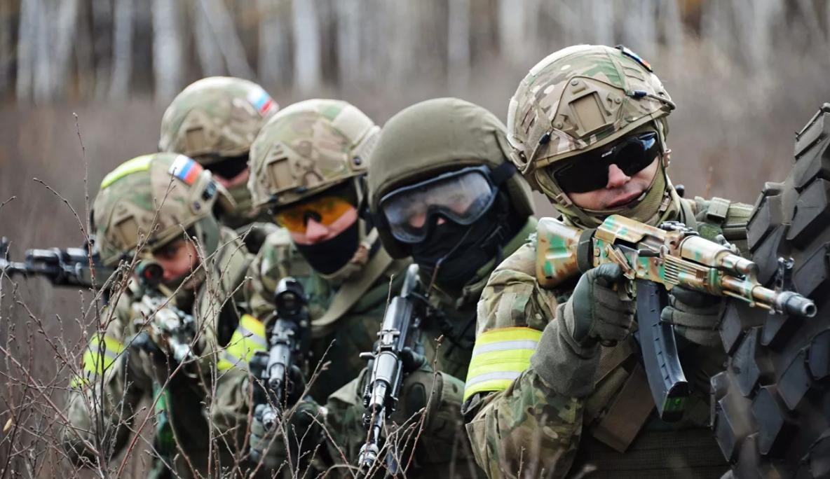 «Русский спецназ» обнаружили водном измагазинов Харькова