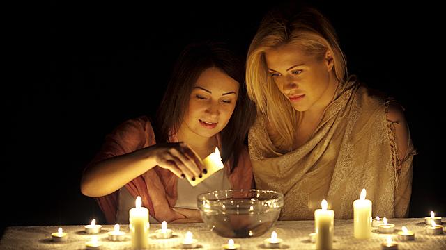 Гадание на свече: трактовка образов